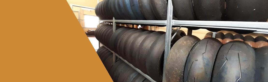 Neumáticos usados para moto